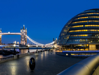 London-City-Hall-Night