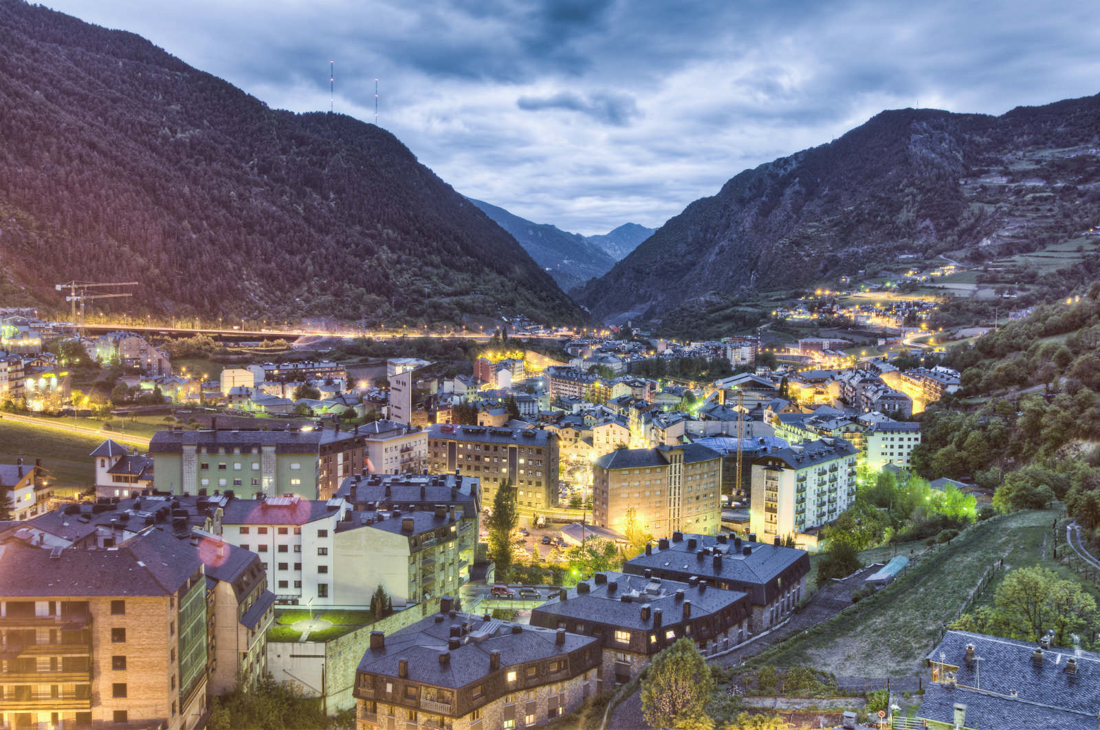 Company and residency in Andorra